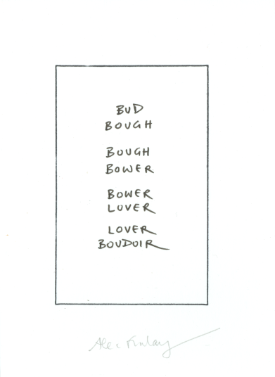 word-drawing (bower-boudoir